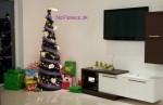 štýloví vianočný stromček