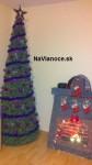 Moderné vianočné stromčeky.
