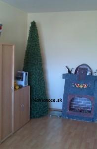 pekný vianočný stromček