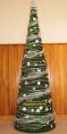 vianočná moderná štýlová dekorácia