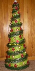 vianočná moderná dekorácia