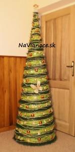 vianočné štýlové dekorácie