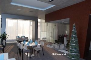 vnútorné vianočné stromčeky
