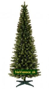 moderné úzke vianočné stromčeky TUJE z 3d ihličia