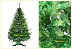 smrekový umelý vianočný 3d stromček