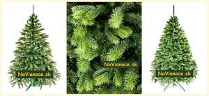 umelé stromčeky vianočné 3d