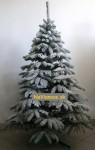 zasnežené umelé vianočné stromčeky 3d