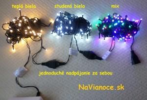 LED vianočné osvetlenie na stromček vianočný