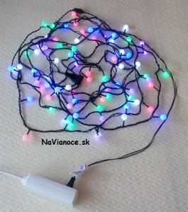 osvetlenie na Vianoce na vianočný stromček