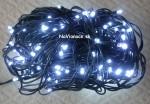 biele vianočné osvetlenie LED