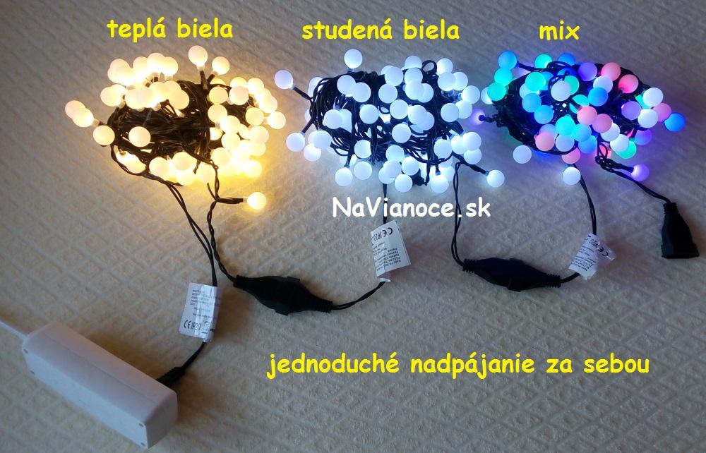 svetelné reťaze na vianočné stromčeky na Vianoce