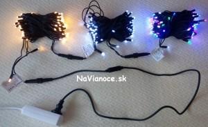 vianočné žiarovky led