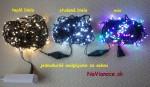 vianočné reťaze LED na stromček
