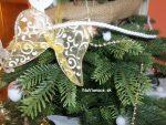 Vianočné stromčeky umelé z 3D ihličia, trojrozmerné mäkké ihličie.