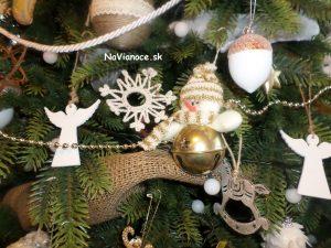 vianočný 3d stromček a ozdoby na vianoce