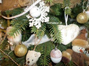 jednoduchá vianočná výzdoba