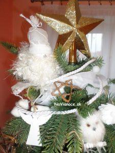 moderný vianočný 3d stromček