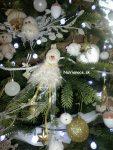 nazdobený vianočný 3d stromček