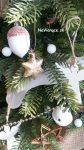 ozdobený 3d vianočný stromček