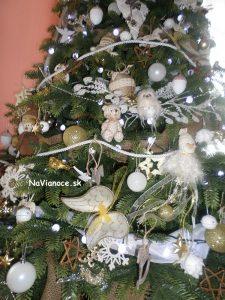 ozdobený umelý 3d stromček, Vianoce