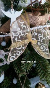 ozdobený vianočný 3d stromček