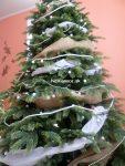príklad vianočného stromčeka z 3d ihličia na Vianoce