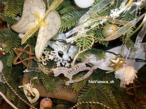 pekná vianočná výzdoba