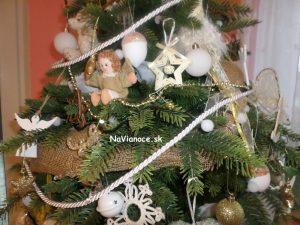 pekná výzdoba na Vianoce