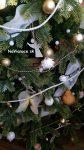 vianočné ozdoby na 3d vianočnom stromčeku