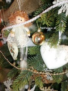 vianočný anjel na Vianoce