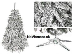 biely vianočný stromček