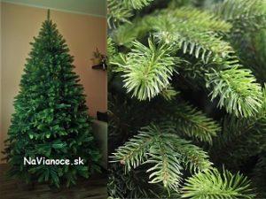 kombinovaný umelý vianočný stromček 3d