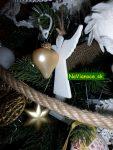 vianočný stromček so srdiečkom
