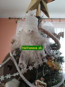 hviezda na vrch vianočného stromčeka