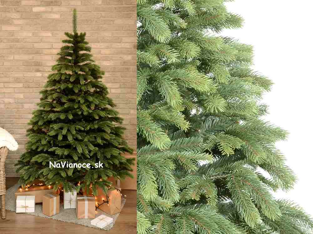 trendy umelý vianočný stromček
