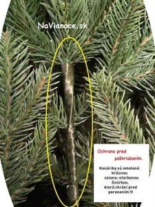 spracovanie halúzok na 3d stromčekoch