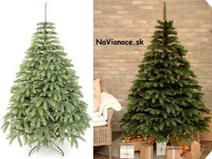 husté vianočné stromčeky