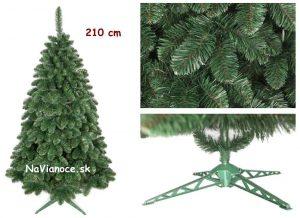 najpoužívanejšia výška vianočného stromčeka