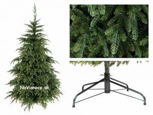 nepravidelný tvar vianočných stromčekov