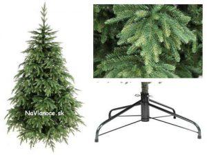 pekné nepravidelné vianočné stromčeky