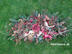 ikebany a aranžmány na dušičky na hroby