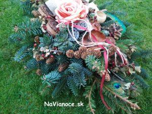 živé prírodné ikebany a aranžmány na hroby na dušičky a pamiatku zosnulých na objednávku v Trnave