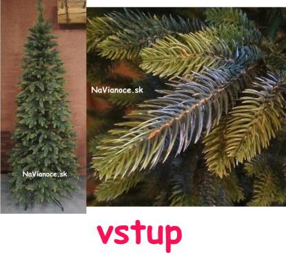 uzky-umely-vianocny-stromcek-tuja-3d-ihlicie